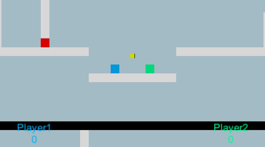 Screenshot of the Truce game